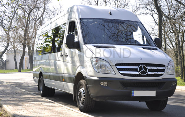 MERCEDES-BENZ S Sprinter white 20