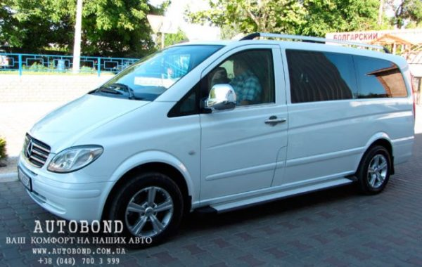 Mercedes Benz Vito White