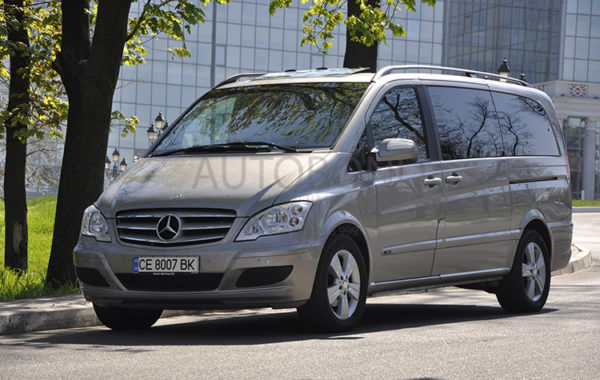 Mercedes Benz VIANO gold