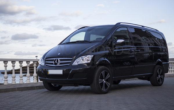 Mercedes Benz VIANO полный привод