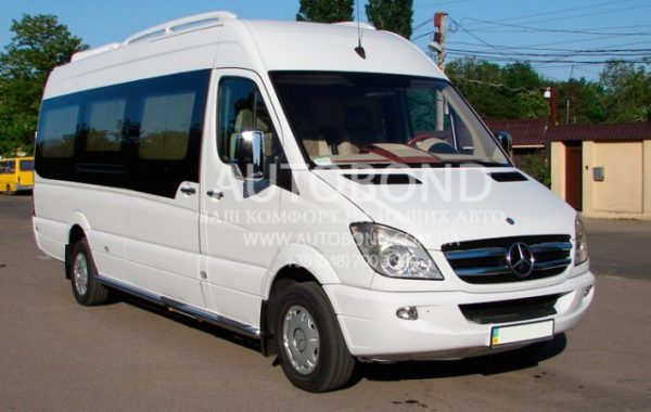 MERCEDES-BENZ Sprinter white 20 pasengers