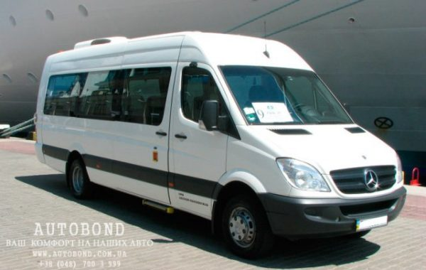 MERCEDES-BENZ Sprinter white 19 pasengers