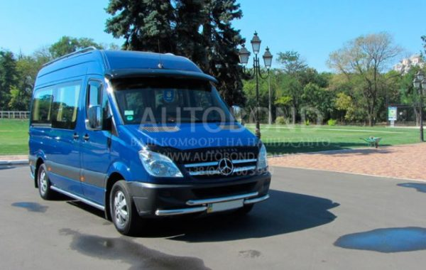MERCEDES-BENZ Sprinter blue 8 pasengers