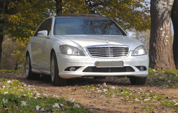 MERCEDES BENZ S CLASS W 221 LONG