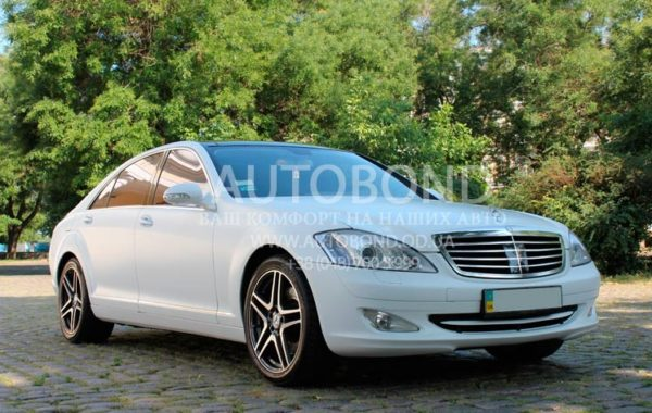 MERCEDES BENZ S CLASS W221 LONG