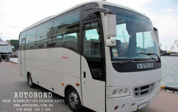 Isuzu 31+1 passengers white