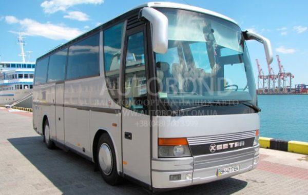Setra 33+1 passengers grey