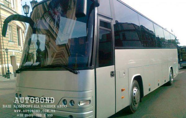Volvo 49 passengers grey