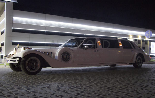 Excalibur Phantom Limo white 2012