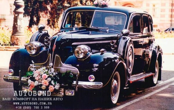 BUICK 1939 Blue – ORIGINAL