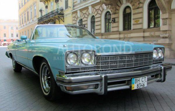 Buick 1972 cabriolet – ORIGINAL