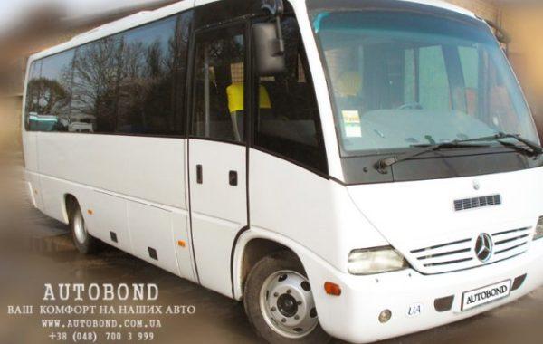 MERCEDES-BENZ S 30 passengers white