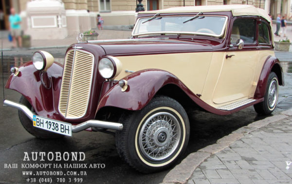 Mercedes Benz Roadster 1938 cabriolet