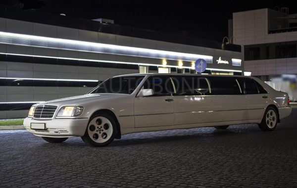 MERCEDES-BENZ S Class W 140 LIMO white