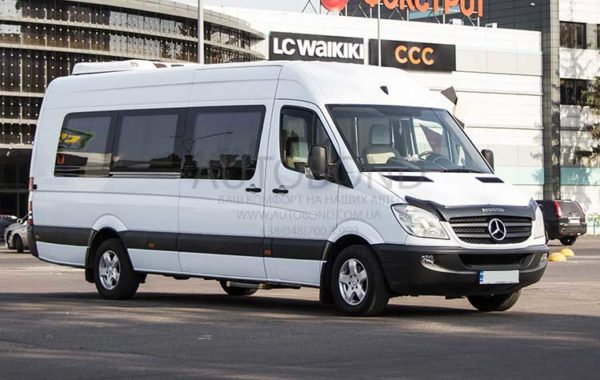 MERCEDES BENZ Sprinter white 2012